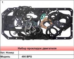 Набор прокладок двигателя 490 BPG