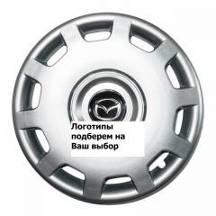 Колпаки гибкие R15 SKS-302 на VW с логотипом