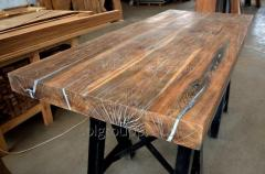 Дубовый стол рустик
