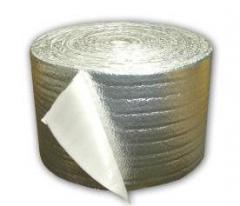 Polyethylene foam with aluminum foil 3 mm thick