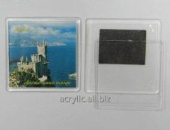 Acrylic preparation for magnets on the