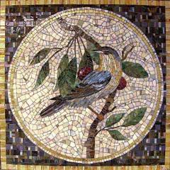 Panel from marble, a mosaic from marble to order,