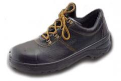Low shoes working NAVEL. Special footwear,