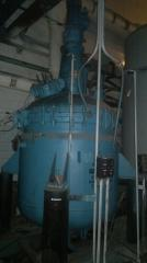 Реактор эмалированный от 0,63м.куб.до 50м.куб