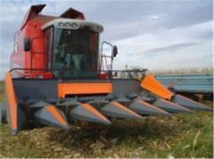 HARVESTERS (Optigep) FOR UBOKI OF CORN AND THE