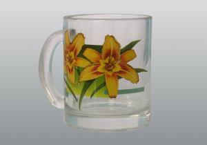 Кружки для чая с деколью  Лилия 300 мл