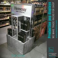 Рекламный стенд Hennessy