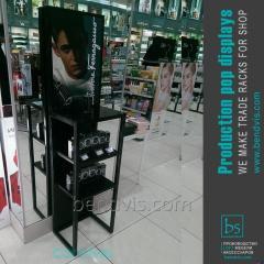 Utstillingsvindu for kosmetikk butikken
