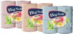 Big Soft Colour toilet paper, 2 layers, 200