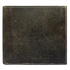 Горизонтальное винтажное портмоне из кожи Always