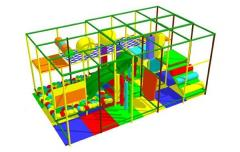 Labyrinth of children's game 5х3х3 m