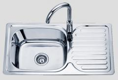 Sink kitchen Sofia from stainless steel - D7642P