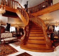 Exclusive wooden ladders.