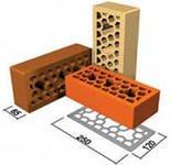 Brick ceramic red 250х120х65, Mr. Romna's
