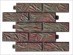 The front tile, tile polymer - sand from the