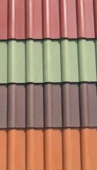 The tile is polimerpeschany. We make polymer - a