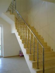 Лестница для дома металлические