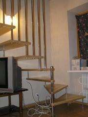 Лестница для коттеджей