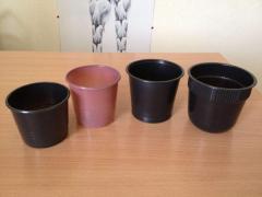 Pot under seedling of 180 ml, 200 ml, 350 ml, 400