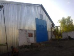 Hangar for storage of bulks-17*32