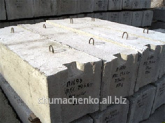 Blocks base FBS, plates, rings, all concrete goods