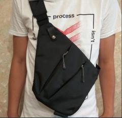 Нагрудная сумка, кроссбоди Wallaby 113 черная