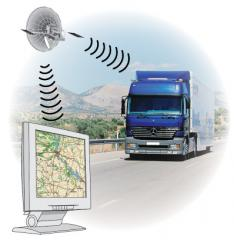 System of tracking transport on the GPS/GPRS