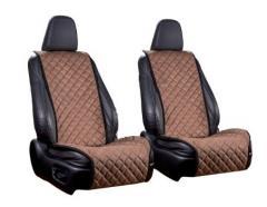 Накидки передних сидений тканевые двухсторонн