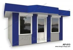 Stalls, booths, trade pavilions with delivery