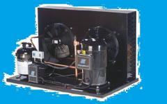 Compressor and condenser units