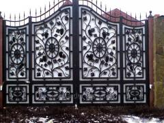 Кованные и решетчатые ворота