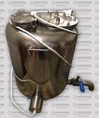 Alembic for distillation column
