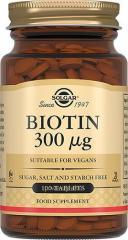 Витамины Биотин 300 мкг