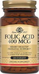 Витамин Фолиевая кислота Folid Acid 400 mcg