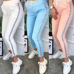 Женские спортивные штаны с лампасами 42,44,46,48