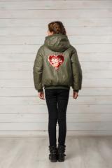 Детская демисезонная куртка на девочку Белла р.