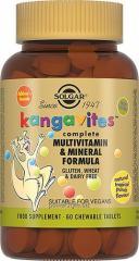 Жевательные таблетки Кангавитес с мультивитаминов и минералами со вкусом тропических фруктов