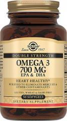 Двойная Омега - 3700 мг ЭПК и ДГК