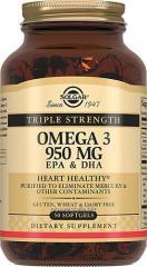 Тройная Омега-3950 мг ЭПК и ДГК