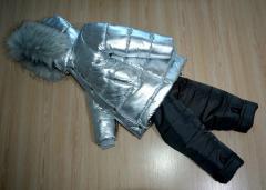 Стильная зимняя куртка на мальчика (подростка)