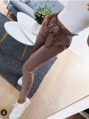 Женские строгие штаны (брюки) высокая талия