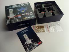 Лампа светодиод H11 25W Blaskar X3 LUMILEDS (пара)