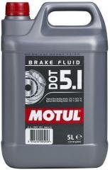Тормозная жидкость дот5 MOTUL DOT 5.1 (5L)