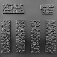 """Форма для искусственного камня """"Кирпич"""