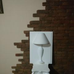 Гипсовая декоративная панель ЛАМПА