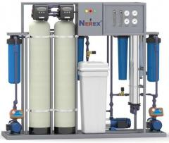 Filters for water 0,2 of m3/h and are combined