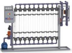Ultafiltration industrial from 3 m3/h