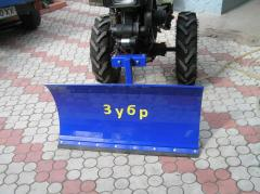 Shovel a dump for the motor-block, a