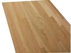 Board furniture of a beech