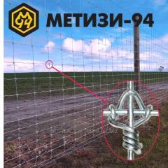 Сітка металева Вузолфікс® 2м з високовуглецевого